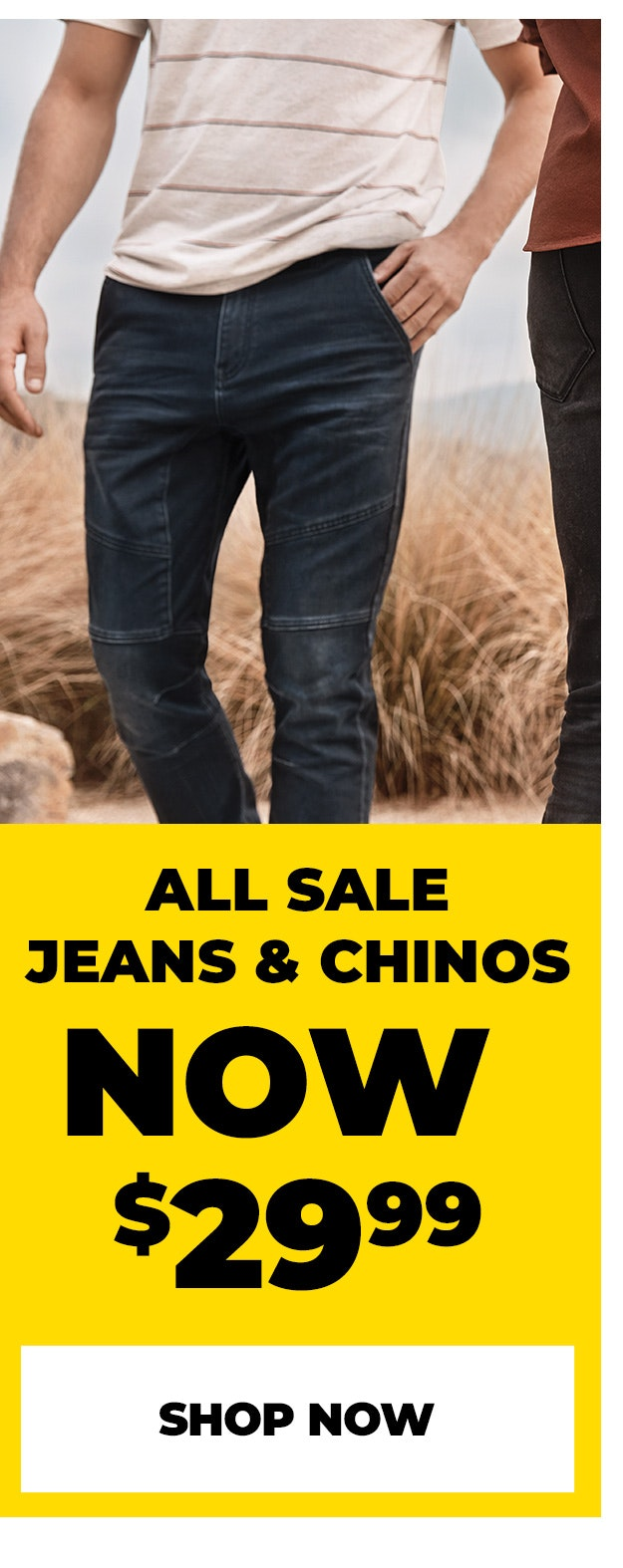 sale jeans & chinos
