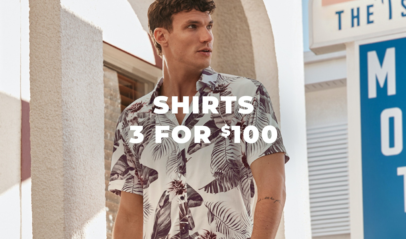 3 for 100 shirts