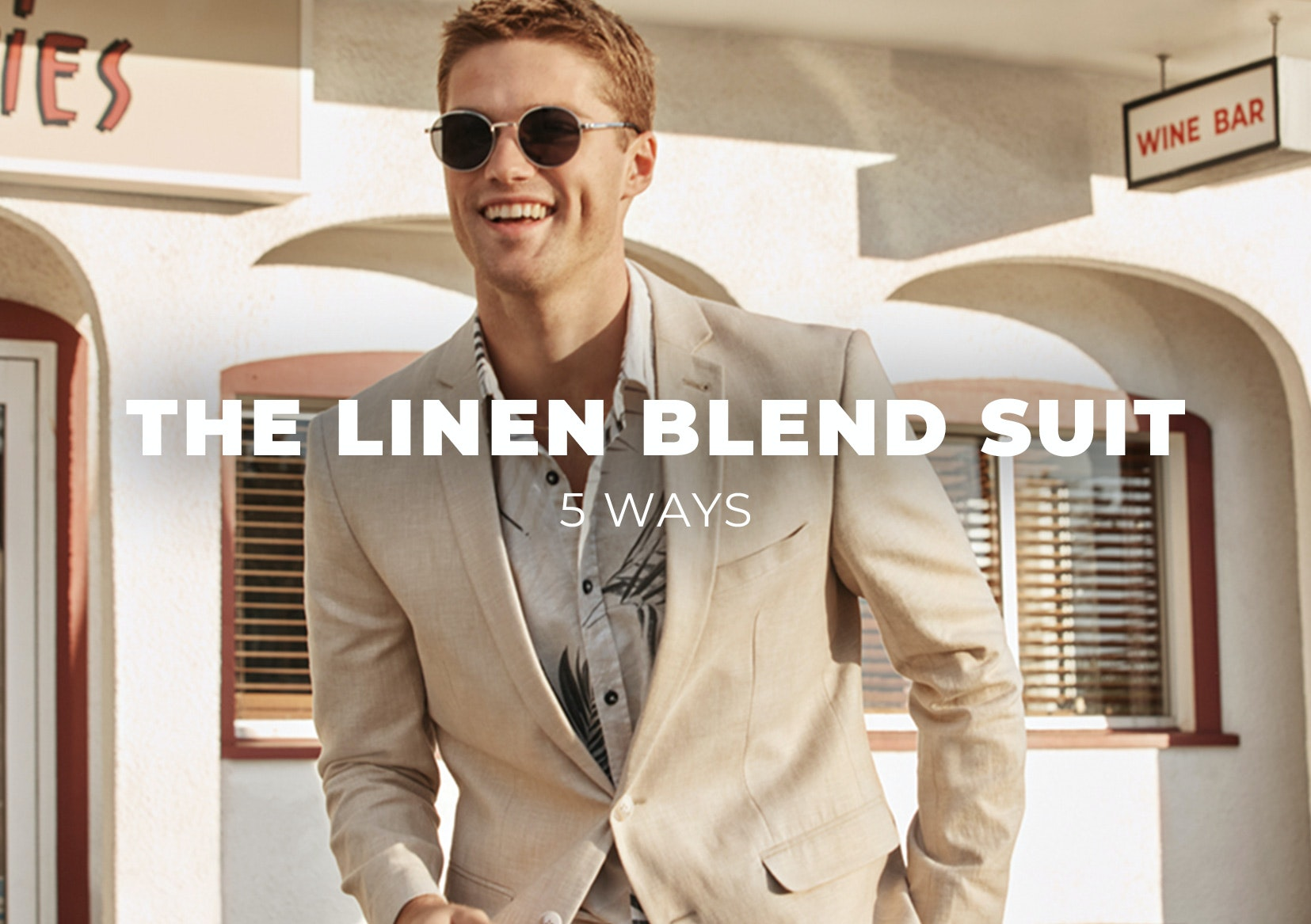 Linen Suit 5 ways