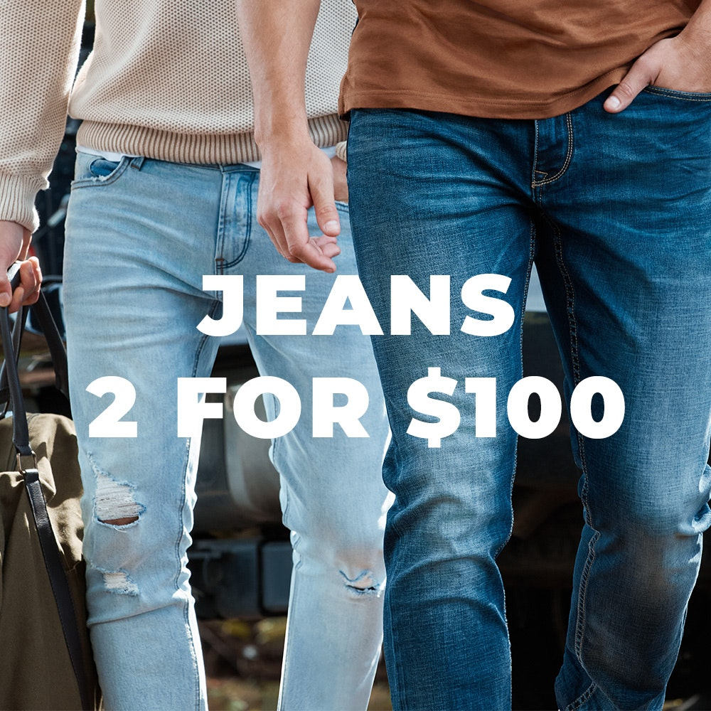 2 for 100 jeans