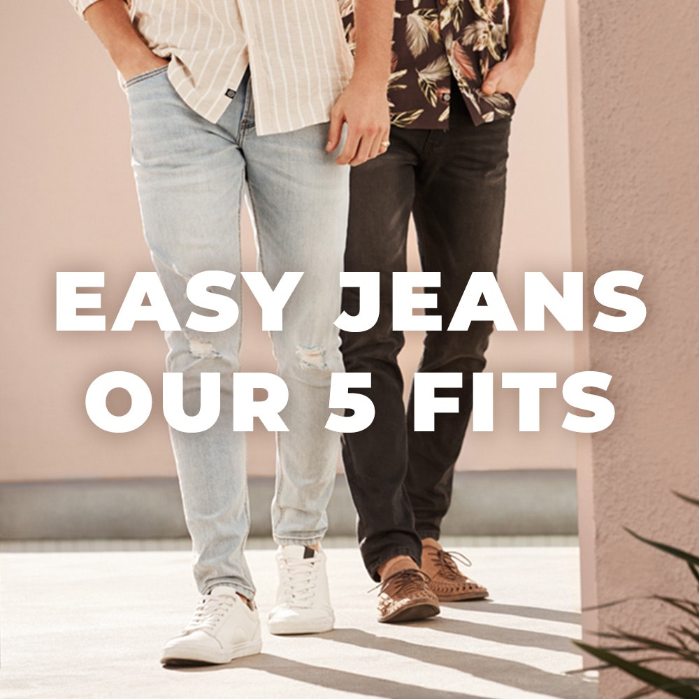 Easy Jeans Our 5 Fits