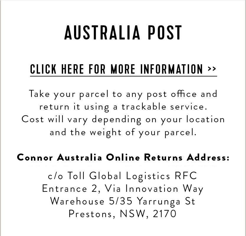 Connor Returns & Exchanges