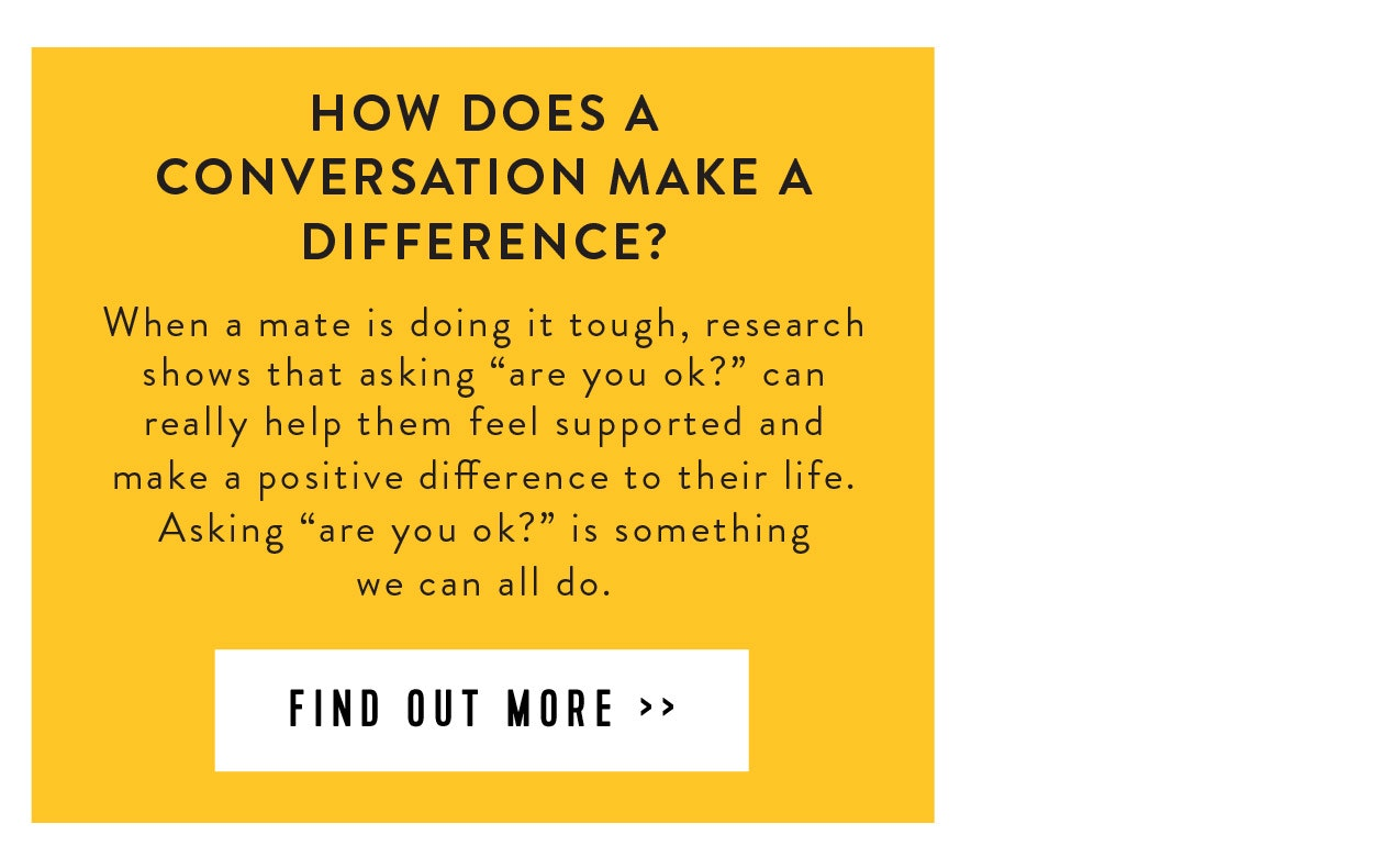 How does a conversation make a difference?