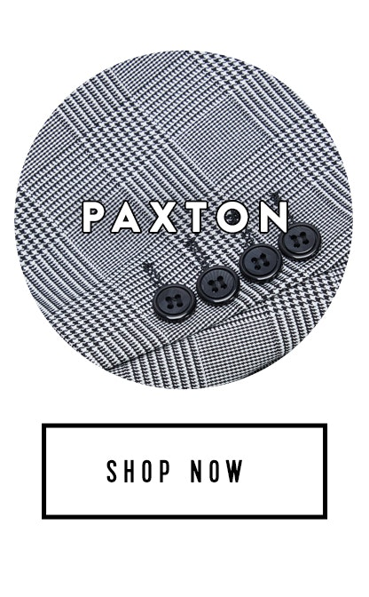 Shop Grey Paxton Check Suit