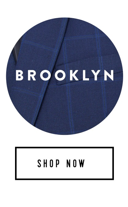 Shop Brooklyn Navy Check Suit