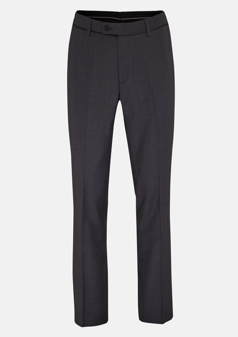 Charcoal Osborne Classic Dress Pant