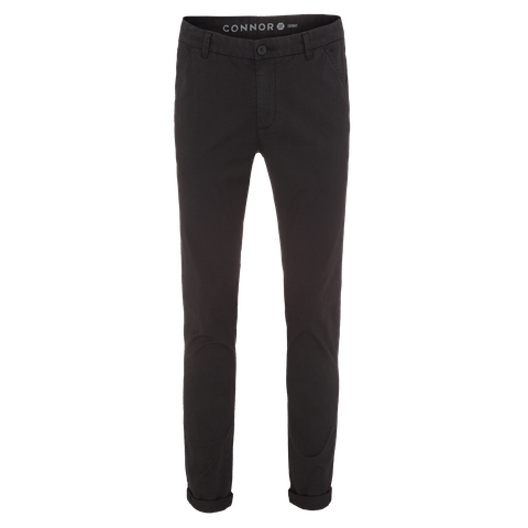 Black Charlie Skinny Chino by Connor