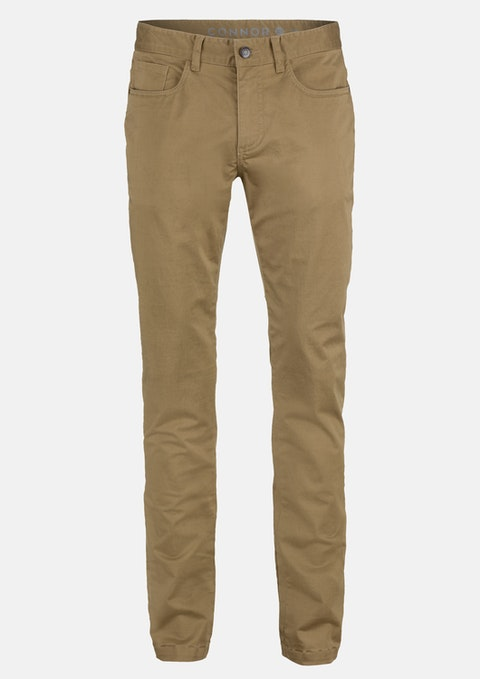 Camel Milton Stretch Slim Pant