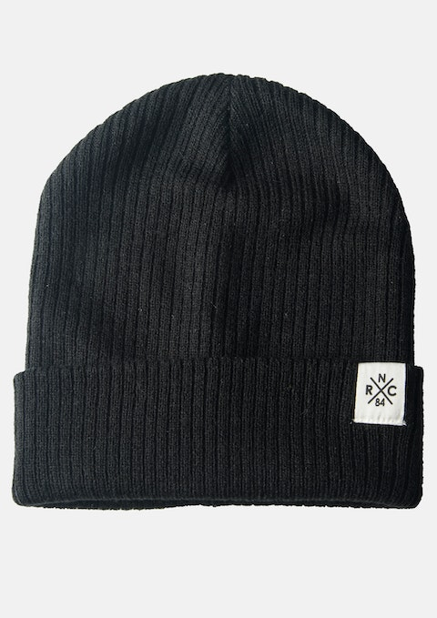 Black Docklands Beanie