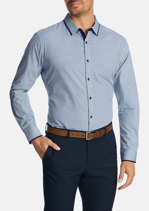 Blue Blount Slim Shirt