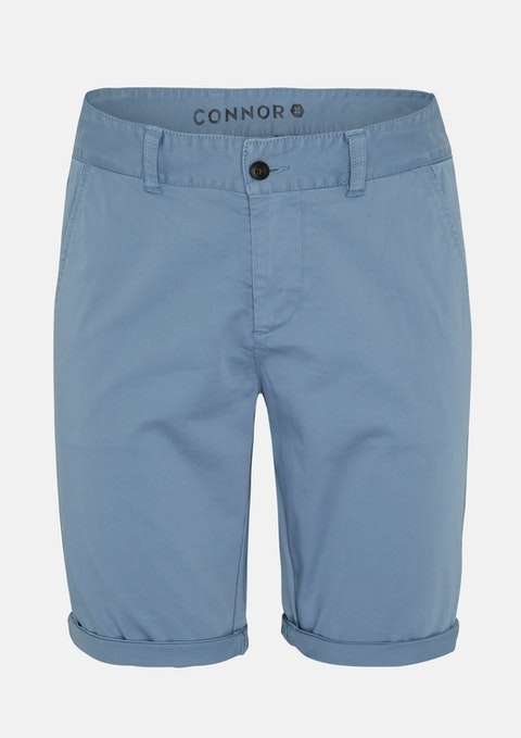 Blue Darwin Chino Stretch Short