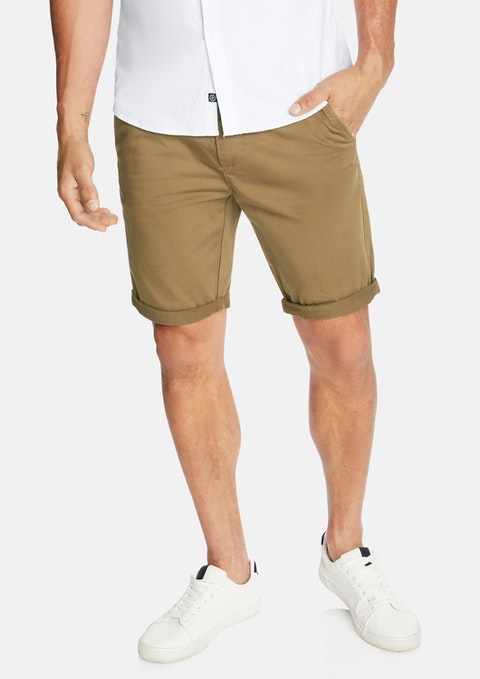 Camel Darwin Chino Stretch Short