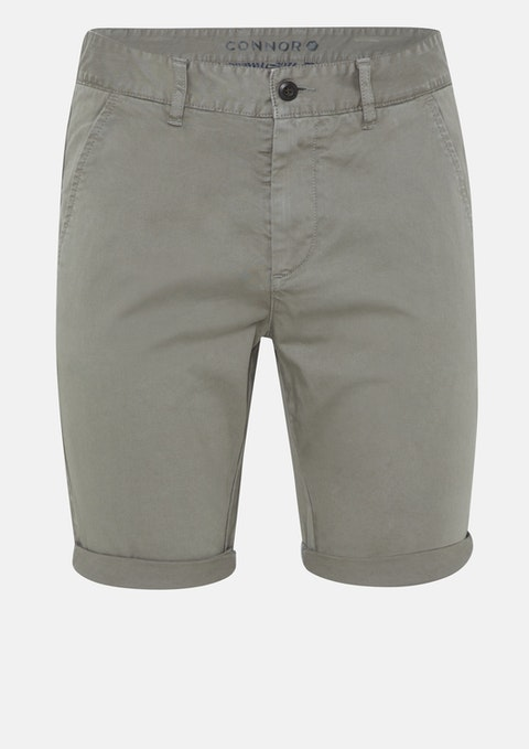 Khaki Darwin Chino Stretch Short