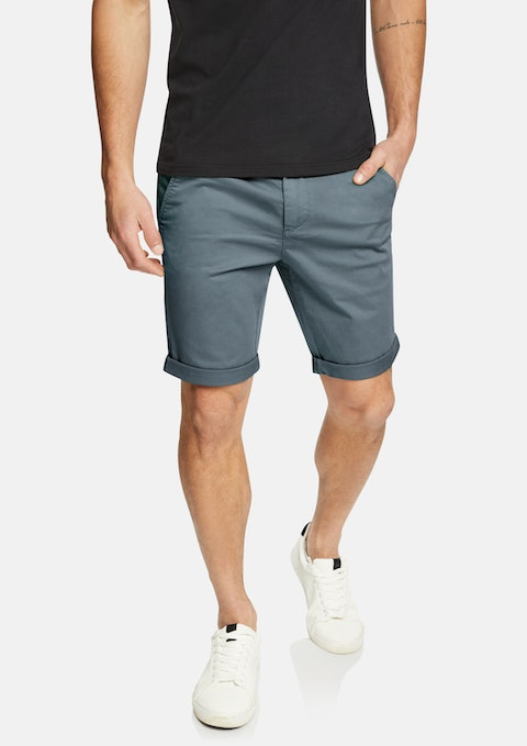 Steel Darwin Chino Stretch Short