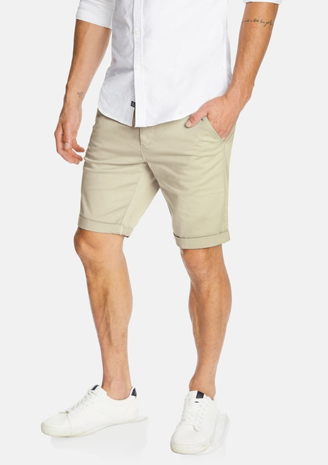Stone Darwin Chino Stretch Short