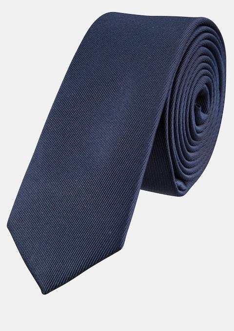 Navy Plain 5cm Tie
