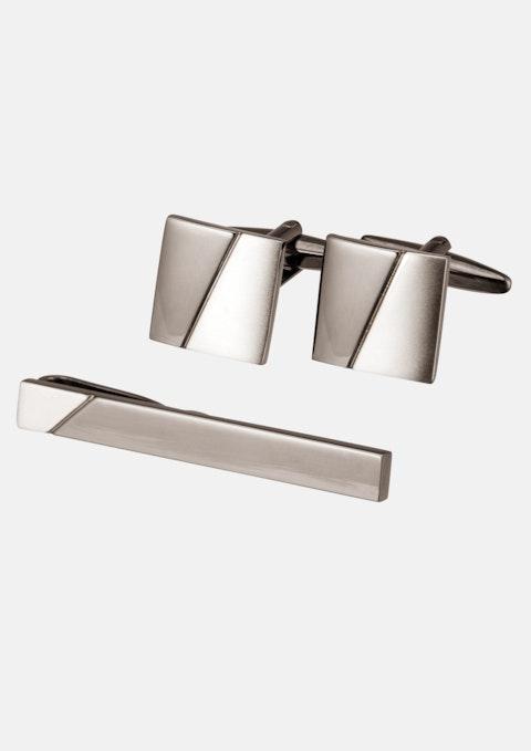 Smoke Cuff & Tie Pin Set