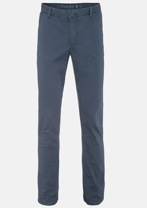 Blue Platinum Slim Stretch Chino