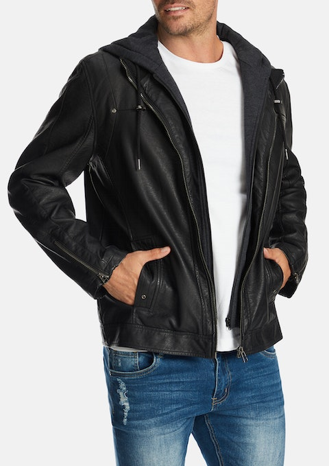 Black Riley Jacket