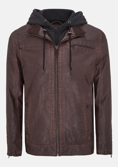 Brown Riley Jacket