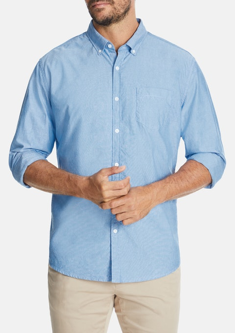 Blue Chapman Slim Casual Shirt