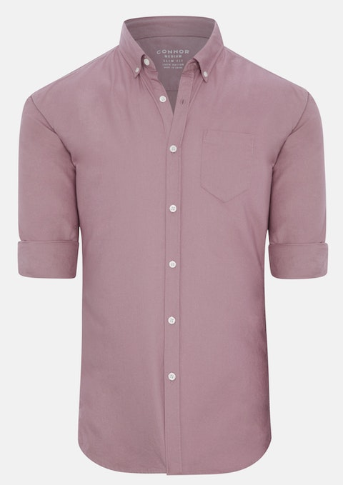 Dusty Pink Chapman Slim Casual Shirt