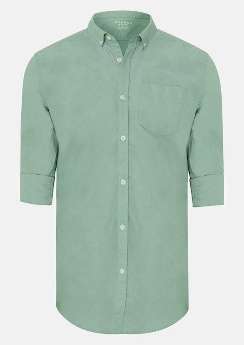 Green Chapman Slim Casual Shirt
