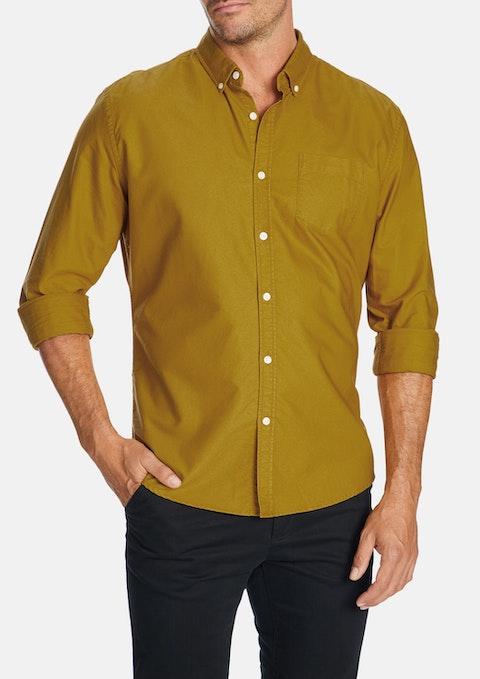 Mustard Chapman Slim Casual Shirt