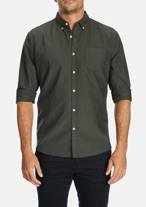 Olive Chapman Slim Casual Shirt