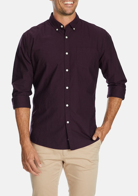 Plum Chapman Slim Casual Shirt