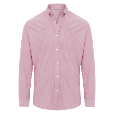 Red Chapman Slim Casual Shirt by Connor