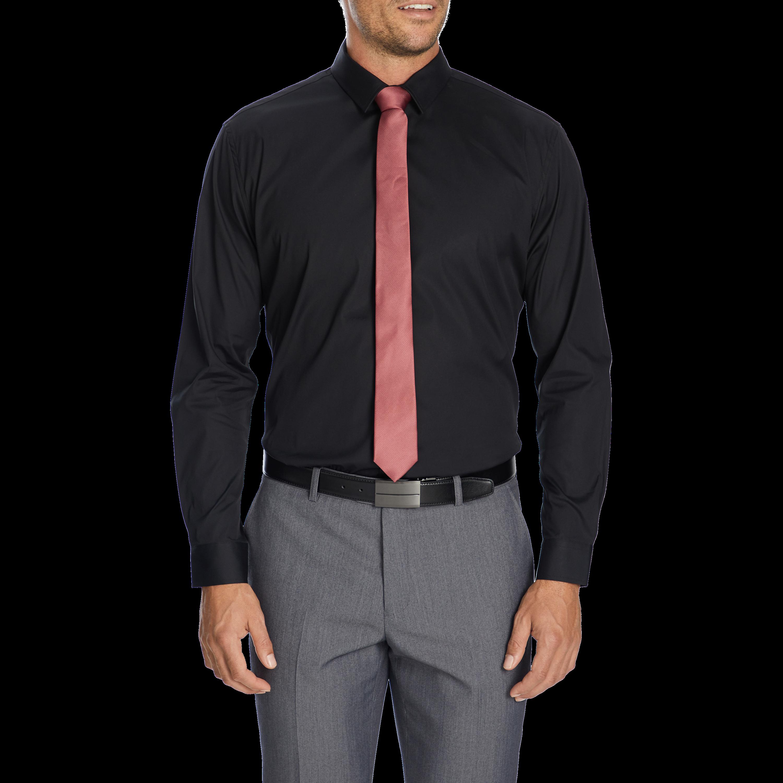 black cyrus slim dress shirt by connor shop our mens