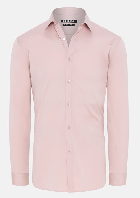 Dusty Pink Cyrus Slim Dress Shirt