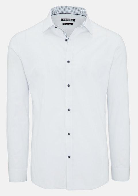White Aster Slim Dress Shirt