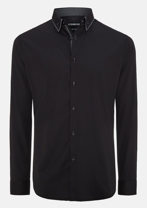 Black Lotus Dress Shirt