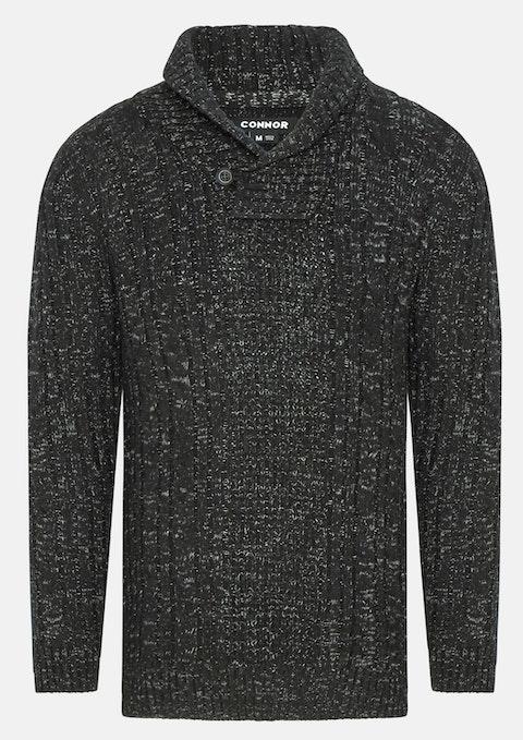 Black Ethan Knit