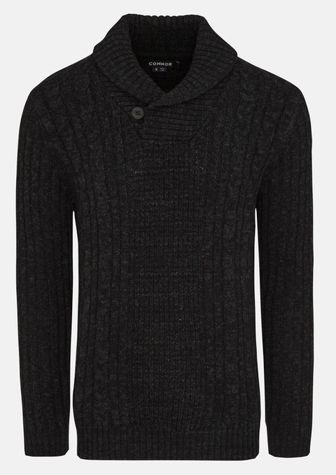 Charcoal Ethan Knit