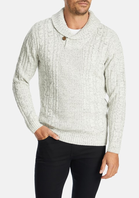 Silver Ethan Knit