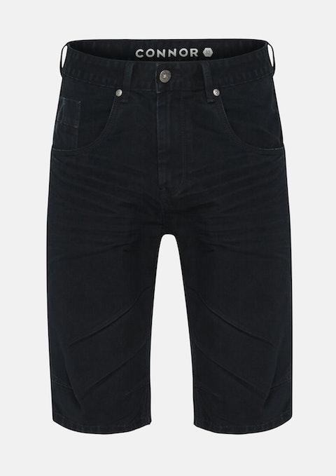 Blue Black Vermont Denim Short
