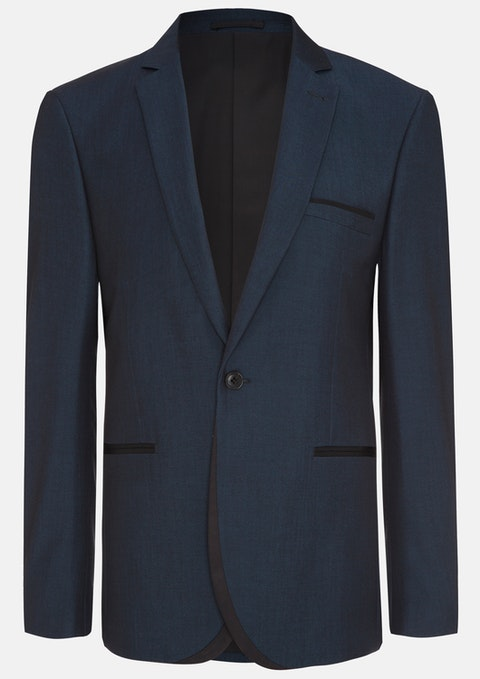 Ink Blake Slim Suit Jacket
