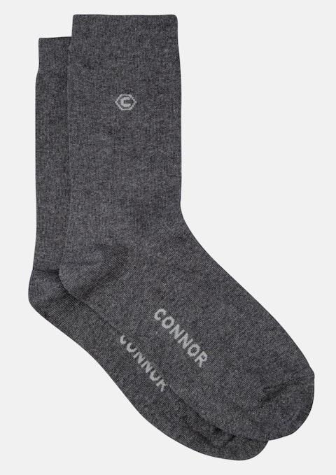 Charcoal Logo Sock