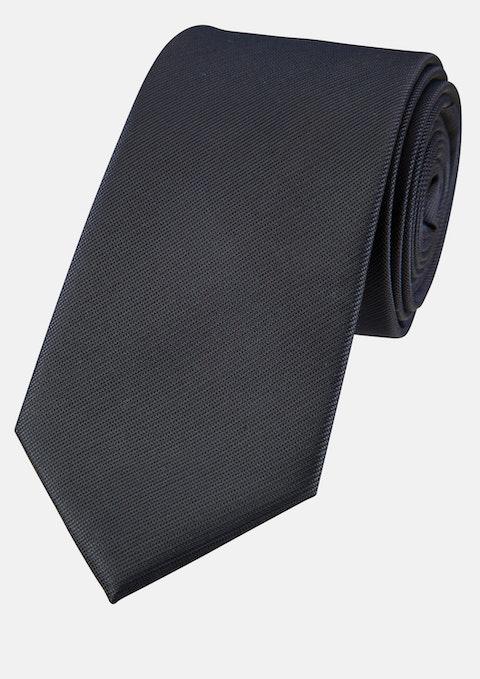 Navy Plain 7cm Tie