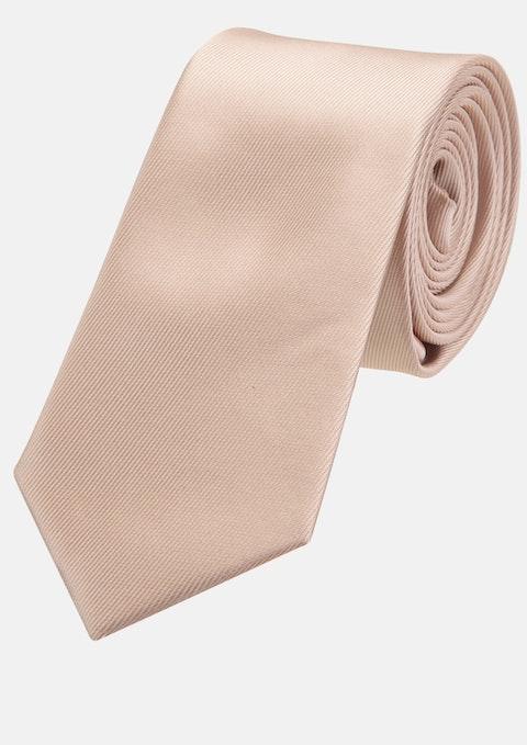 Champagne Plain 6cm Tie