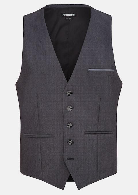 Charcoal Court Waistcoat