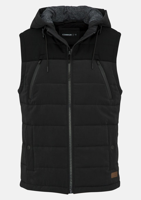 Black Orion Puffer Vest