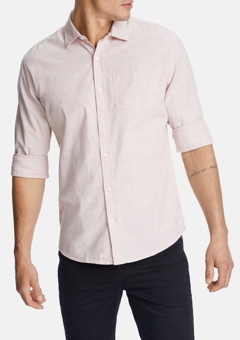 Dusty Pink Sniders Casual Shirt