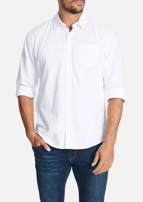 White Sniders Casual Shirt