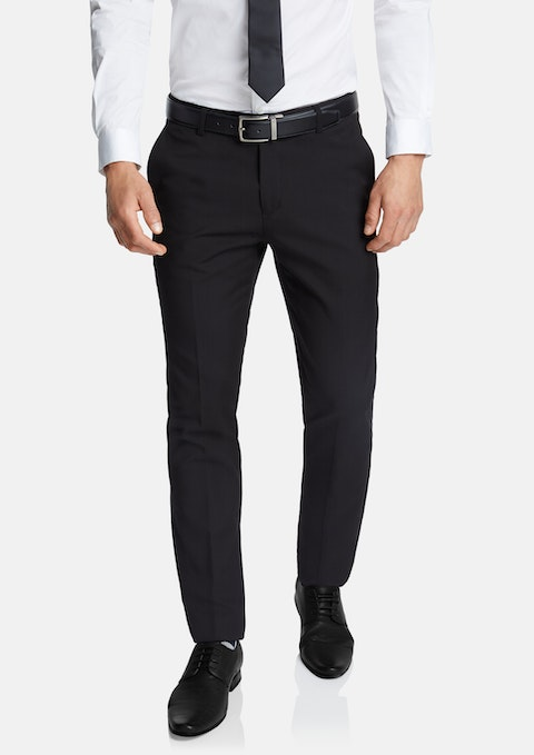 Black Diamond Skinny Stretch Dress Pant