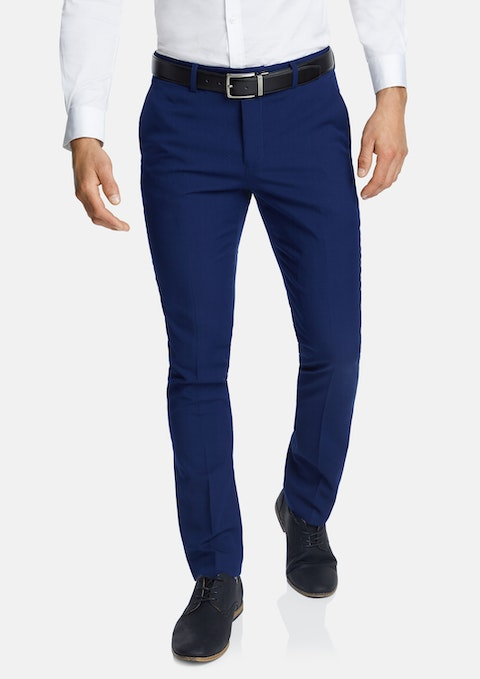 Blue Diamond Skinny Stretch Dress Pant