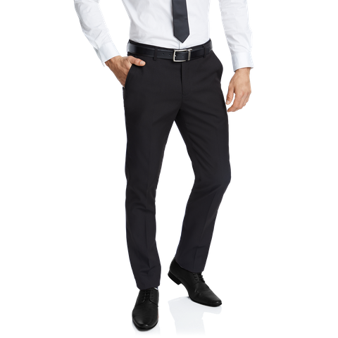 Black Diamond Slim Stretch Dress Pant by Connor